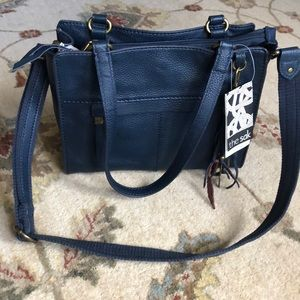 NWT The Sak Alameda Navy Blue Satchel!